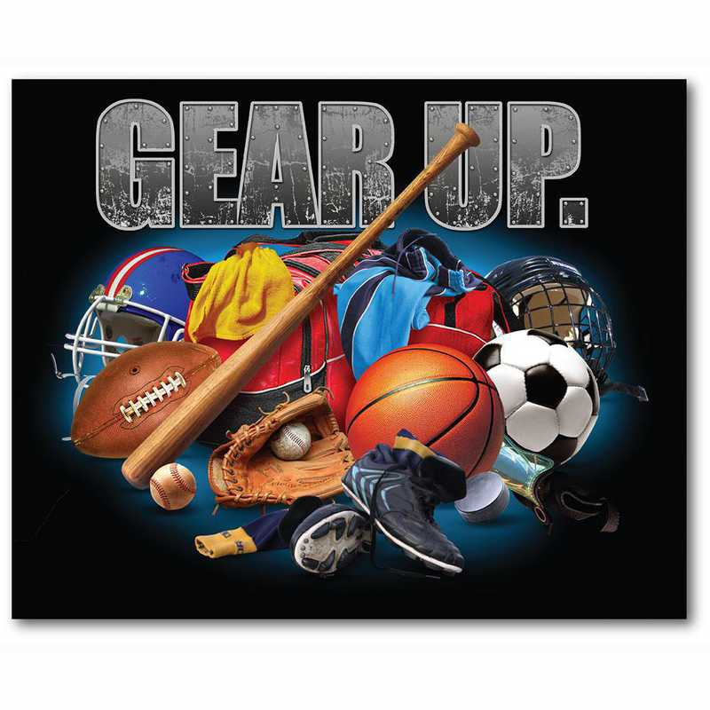 WEB-TS408-16x20: CS Gear Up Sports  Canvas 16