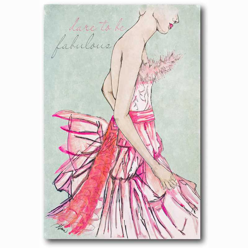 WEB-FD106-12x18: Pink Couture, 12x18