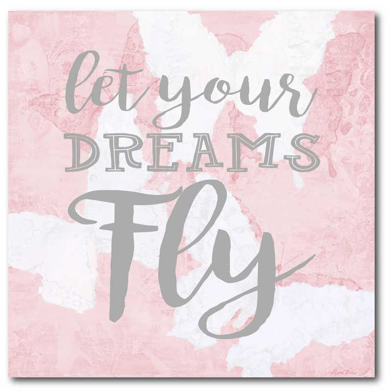 WEB-FD107-16x16: Let Your Dreams Fly, 16X16