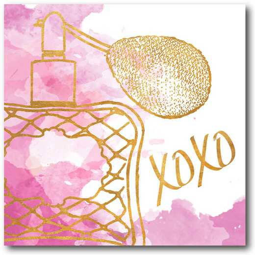 WEB-FD109-16x16: XOXO Perfume Bottle, 16X16