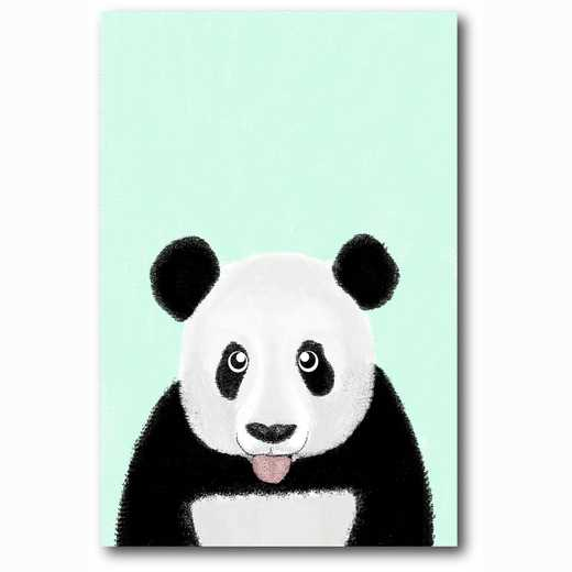 WEB-MV255-12x18: Cute Panda , 12x18