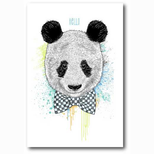 WEB-MV257-12x18: Hello Panda , 12x18