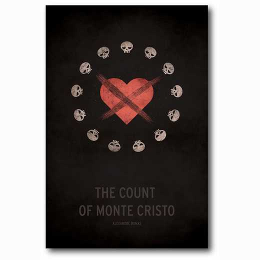 WEB-MV295-12x18: The Count of Monte Cristo , 12x18