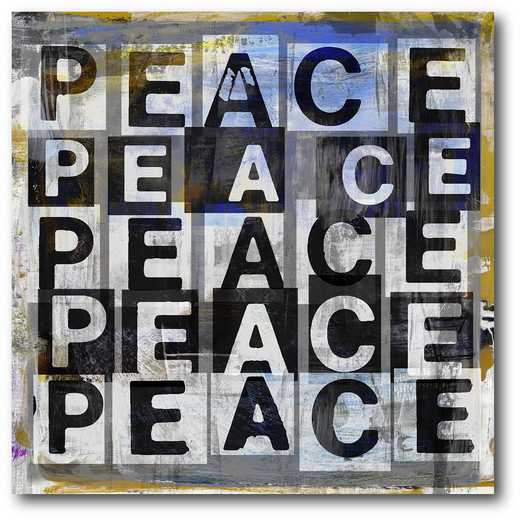 WEB-MV317-16x16: Peace , 16X16