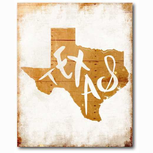 WEB-ST169-16x20: Wood Texas , 16x20