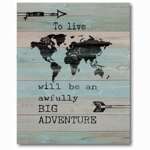 WEB-TS196-16x20: Adventure , 16x20