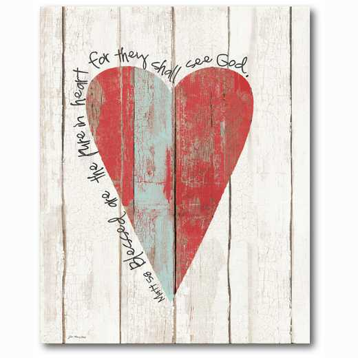 WEB-TS198-16x20: Pure in Heart , 16x20
