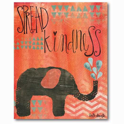 WEB-TS210-16x20: Kindness Elephant , 16x20