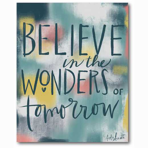 WEB-TS215-16x20: Believe in the Wonders of Tomorrow 16x20