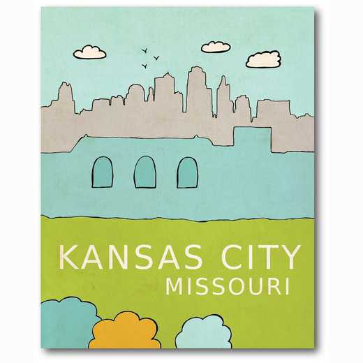 WEB-TS223-16x20: Kansas City , 16x20