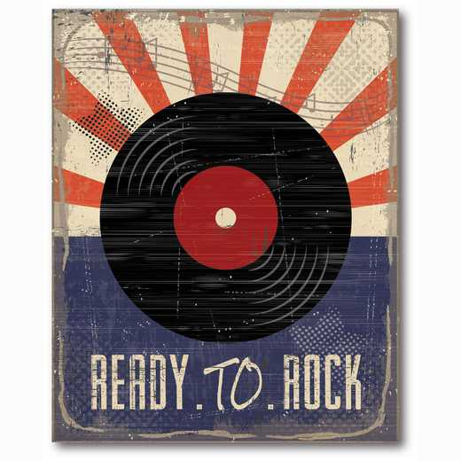 WEB-TS229-16x20: Rock Out I , 16x20
