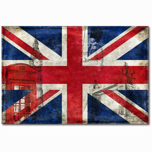 WEB-ID304-24x36: Britain Flag, 24x36