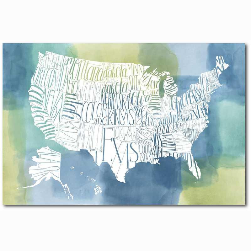 WEB-ST172-24x36: Patchwork USA , 24x36