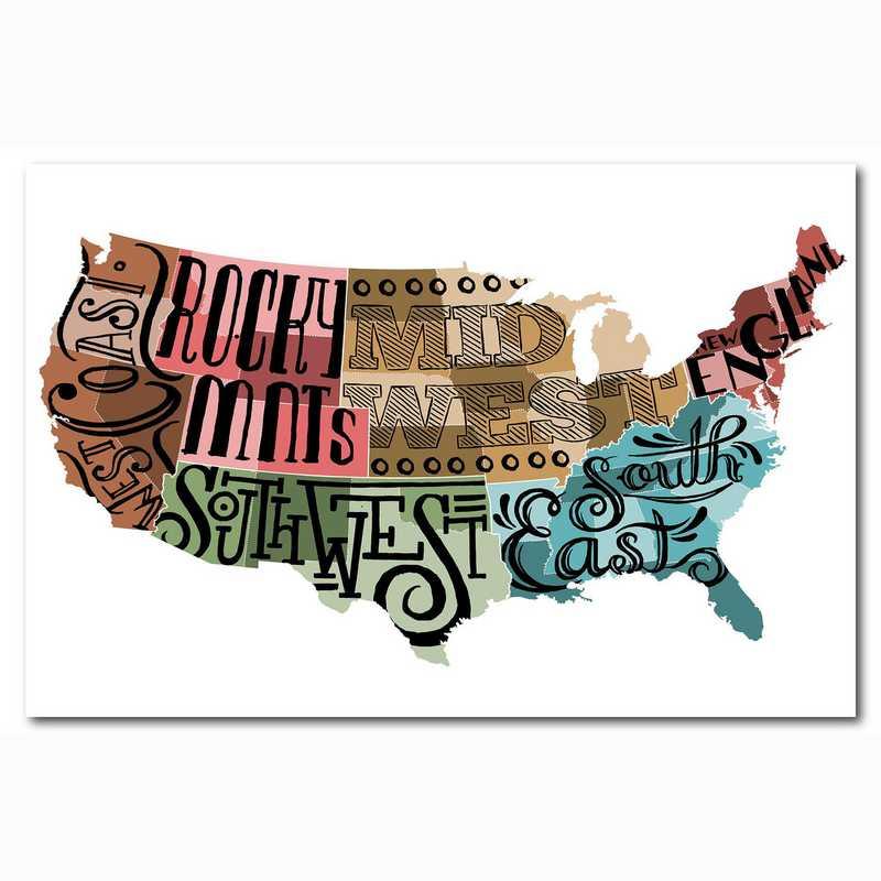 WEB-ST175-24x36: Homeland USA , 24x36
