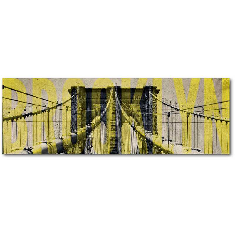 WEB-ST177-12x24: Brooklyn Bridge , 12x24