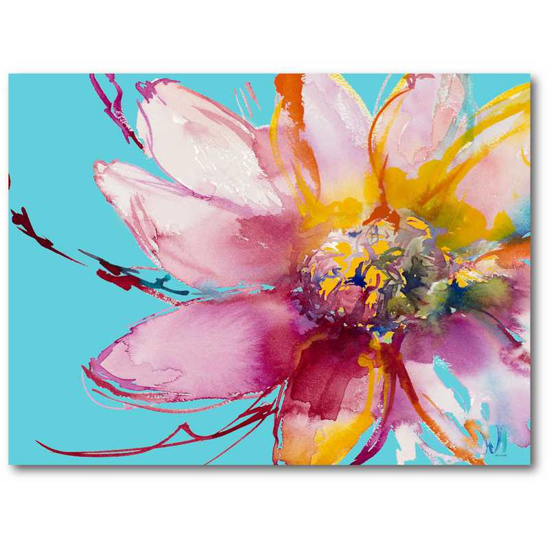 WEB-TS167-18x24: Flower Burst I , 18 x24
