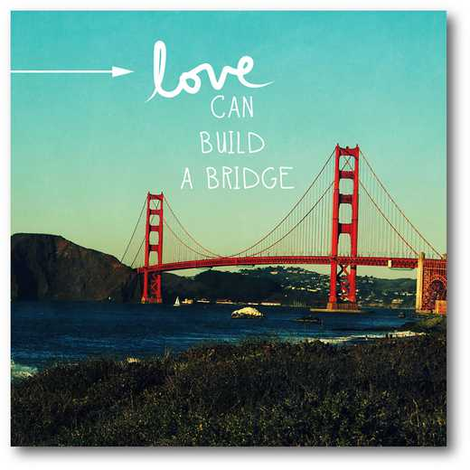 WEB-TS227-16x16:  Love Can Build , 16x16