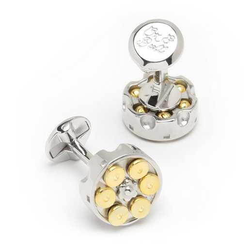 OB-MP-REV-SL: REVOLVER CUFFLINKS