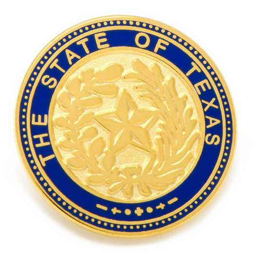 OB-TEXS-LP: State of Texas Seal Lapel Pin