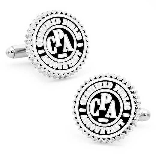 PD-CPA-SL: CPA Seal Cufflinks