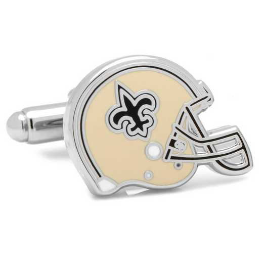 PD-NOSH-SL: Retro New Orleans Saints Helmet Cufflinks