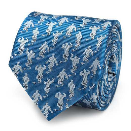 DN-GEN-BL-TR: Genie Scattered Blue Men's Tie