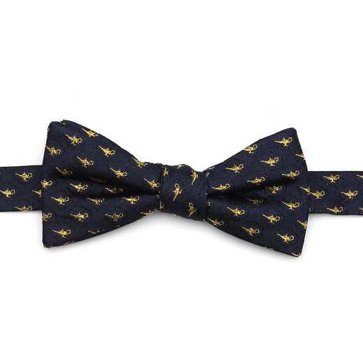 DN-LAMP-NVY-BT: Lamp Scattered Navy Men's Bow Tie