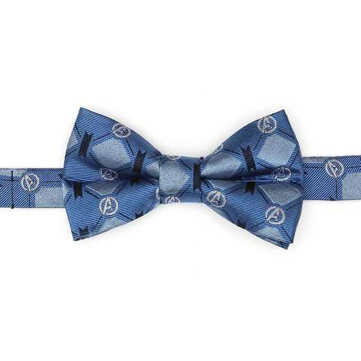 MV-AGLBL-KBT: Avengers 4 Argyle Blue Boys Bow Tie