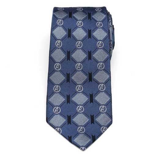MV-AVNGAGL-TR: Avengers Argyle Blue Tie