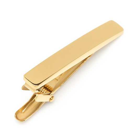 OB-TCGLD-STL-TC: Gold Stainless Tie Clip