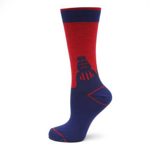 SW-DVMD-BL-SC: Darth Vader Mod Blue Socks