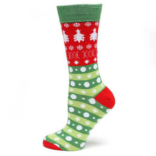 CC-HDTRE-SC: Holiday Tree Sock