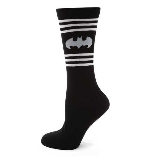DC-BAT-STRP-SC: Batman Stripe Sock