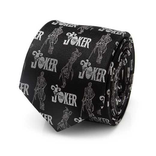 DC-JKSDBK-KT: Joker Black Boy's Tie