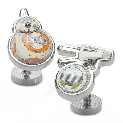SW-BB9-DO9-SL: BB-8 and Dio Cufflinks