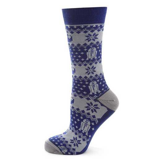 SW-R2LE2-BL-SC: R2-D2 Limited Edition Holiday Socks