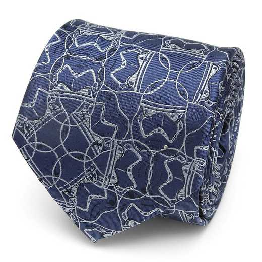 SW-ST9-BL-TR: Stormtrooper Blue Pattern Men's Tie