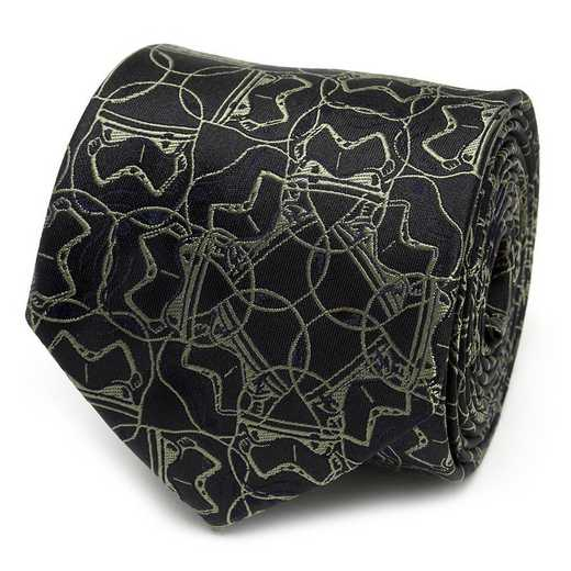 SW-ST9-GR-TR: Stormtrooper Green Men's Tie