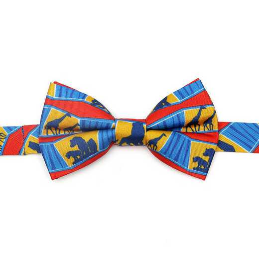 DN-ANI-KBT-BB: Lion King Animals Big Boys Bow Tie