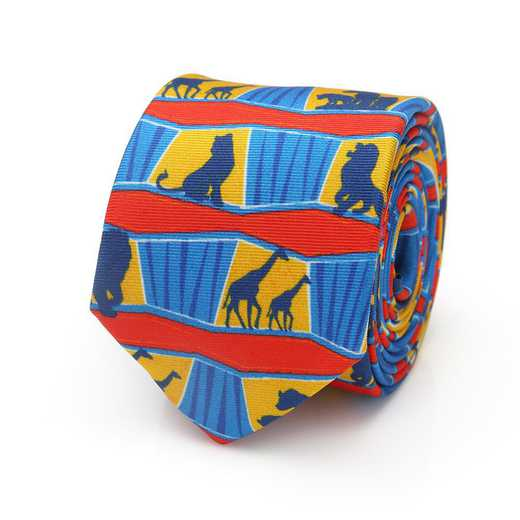 DN-ANI-KT-BB: Lion King Animals Big Boys Tie