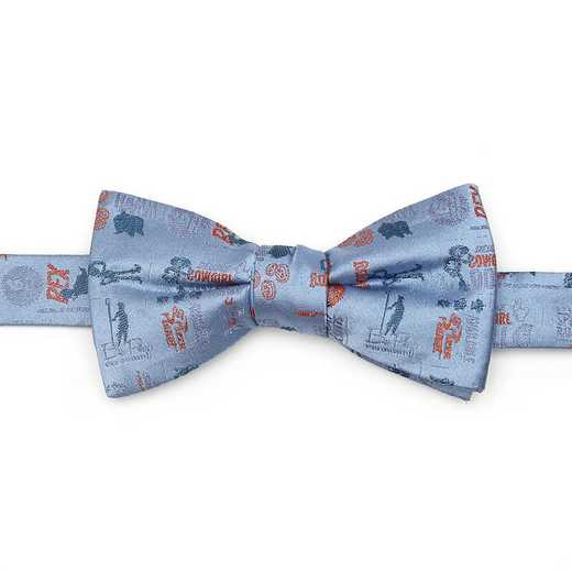 DN-TSMTF-BL-BT: Toy Story 4 Characters Blue Men's Bow Tie