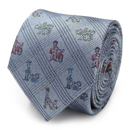 DN-TSS-BL-TR: Toy Story Symbols Blue Men's Tie