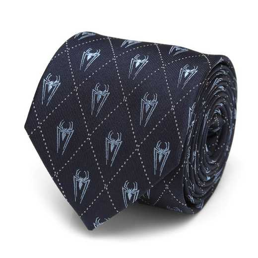 MV-SPIDER-NVY-TR: Spider-Man Diamond Navy Men's Tie