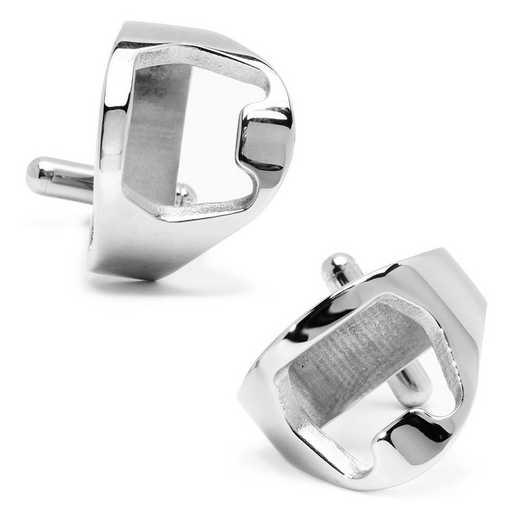 CC-BO-STL: Stainless Steel Bottle Opener Cufflinks