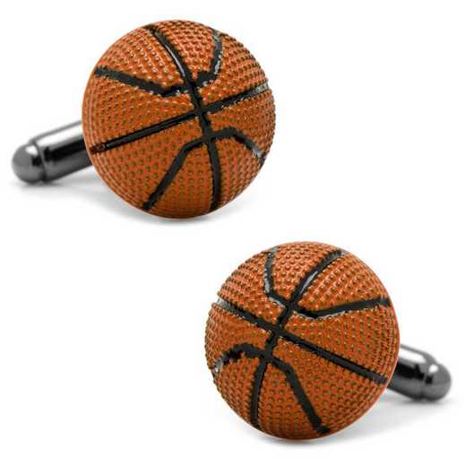 CC-BSKB-BK: Basketball Cufflinks
