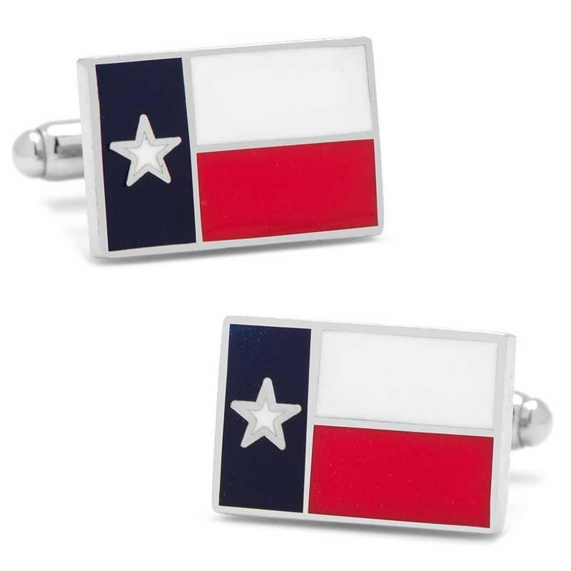 CC-TEXF-SL: Texas State Flag Cufflinks