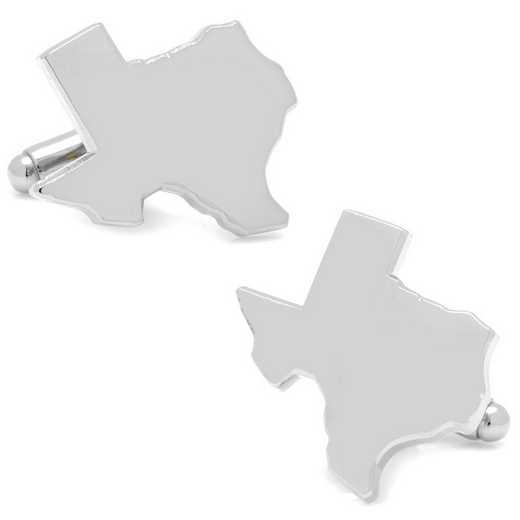 CC-TX-SL: Silver Texas Cufflinks