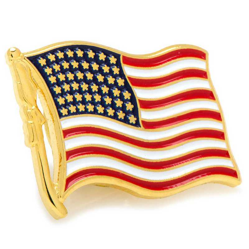 CC-USWF-LP: Waving American Flag Lapel Pin