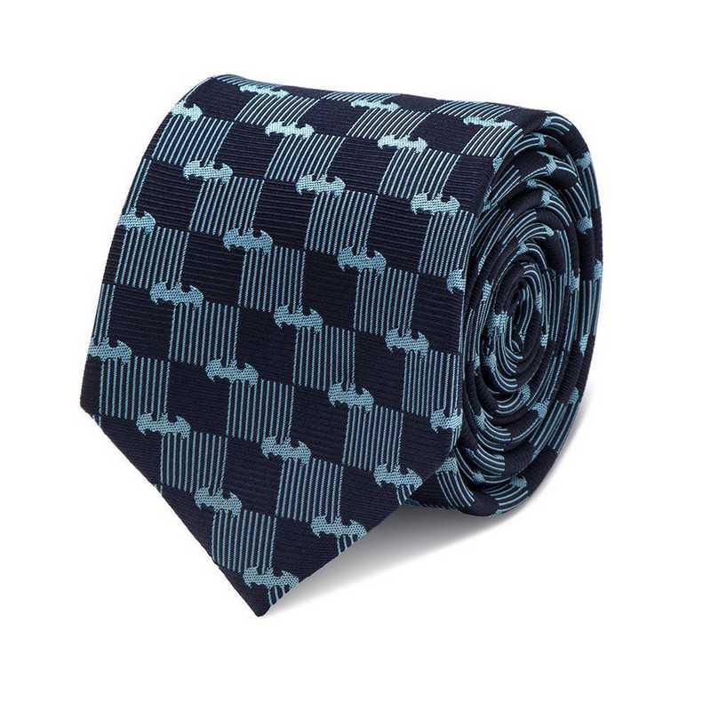 DC-BCHK-BL-TR: Batman Navy Tie