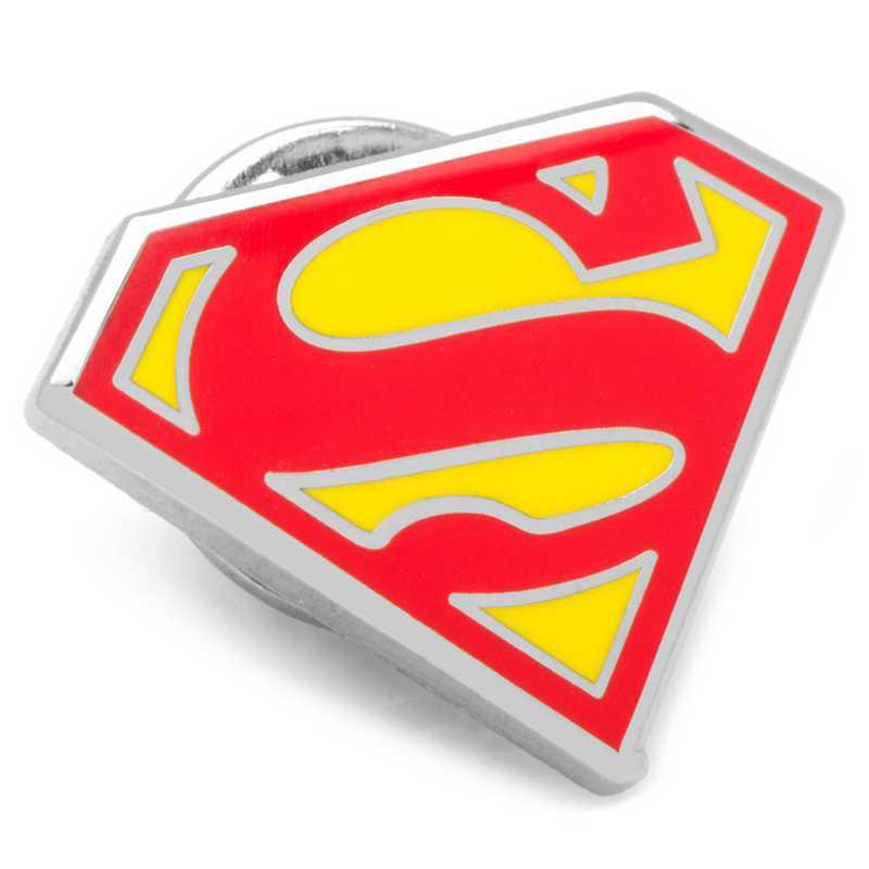 DC-SS-LP: Enamel Superman Shield Lapel Pin